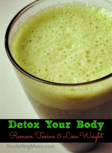 How To Detox Your To Lose Weight by Detox Your Remove Toxins And Lose Weight