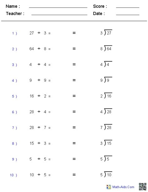 printable division worksheets for 4th graders long division worksheets 4th grade search results