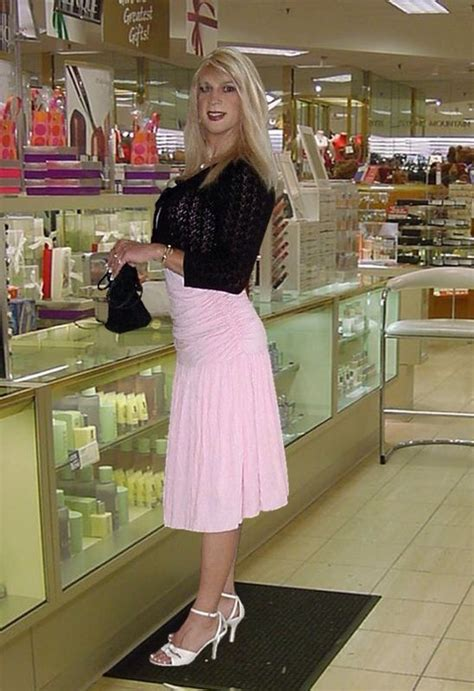 sissy boy shopping for dresses sissi boi sandi is out on assignment 7 buy perfume at