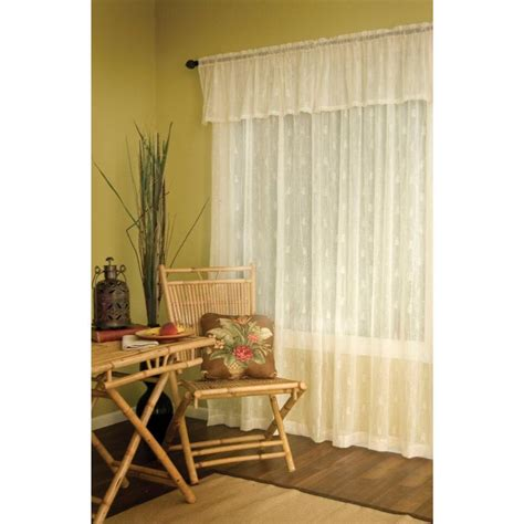 pineapple lace curtains pineapple lace valance country village shoppe