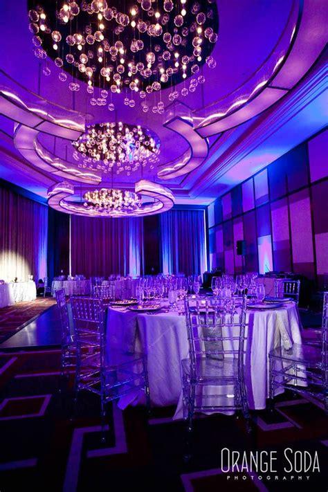 wedding lighting las vegas green orchid events mandarin oriental wedding modern