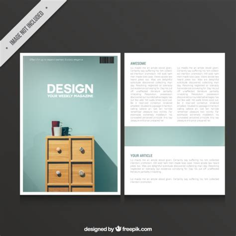 magazine layout vector free download magazine of design vector free download