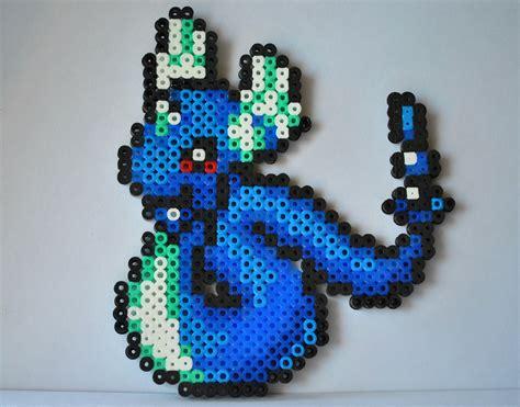 pearler bead dragonair perler bead sprite pixel by