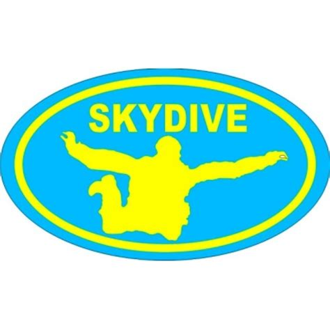 Skydiving Stickers