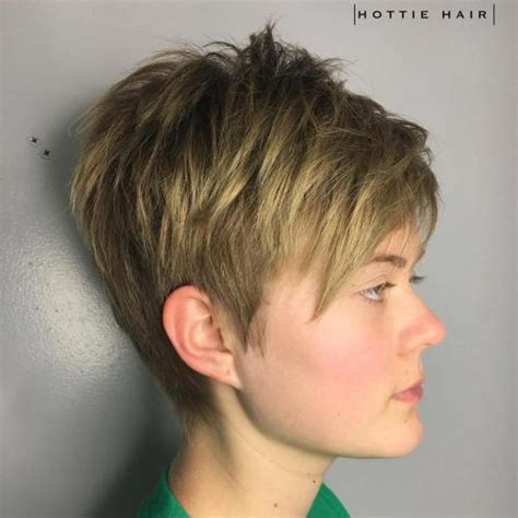 pixie hairstyle full on top tapered back for women 40 bold and beautiful short spiky haircuts for women