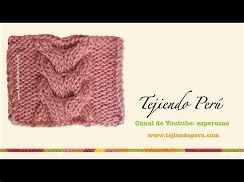 galeria de puntos 4 trenzas ochos cuerdas tejiendo per tejido puntadas and youtube on pinterest