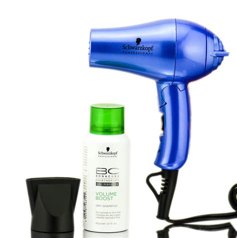 Mini Hair Dryer Set schwarzkopf professional tanzanite inspired mini