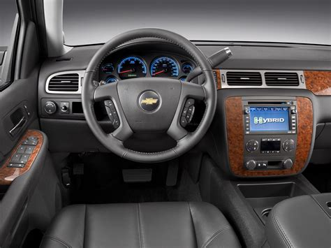 2013 Chevy Tahoe Interior by 2013 Chevrolet Tahoe Hybrid Price Photos Reviews