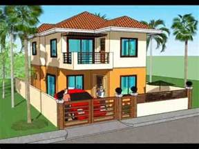 Simple Two Storey House Design Simple House Plan Design 2 Storey House Youtube