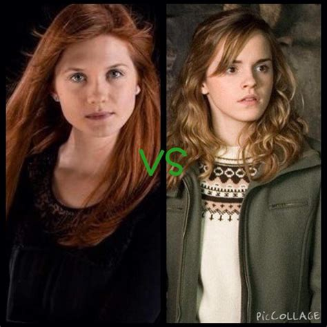 Ginny Weasley Hermione Granger by One Favourite Harry Potter Character Harry Potter