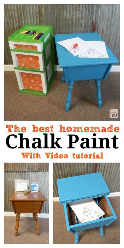 diy chalk paint brand the best chalk paint recipe