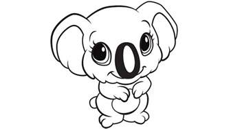 koala coloring pages learning friends koala coloring printable