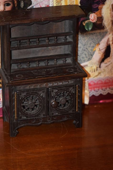 Antique Step Back Cabinet by Antique Doll Step Back Cupboard Cabinet