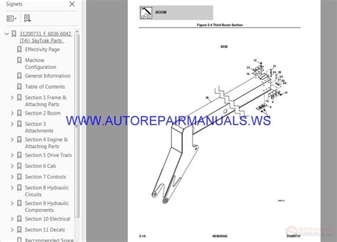 skytrak jlg telehandlers parts manual auto repair manual forum heavy equipment forums
