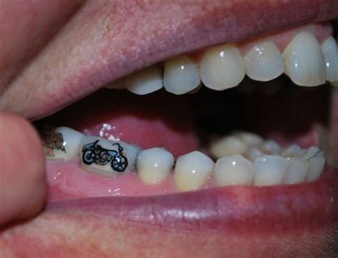 tooth tattoos will know when you re sick before you do