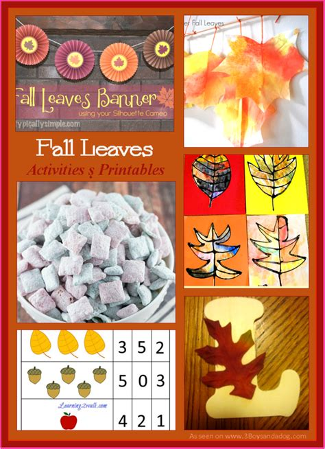 free fall crafts for free fall leaves printables and activities free