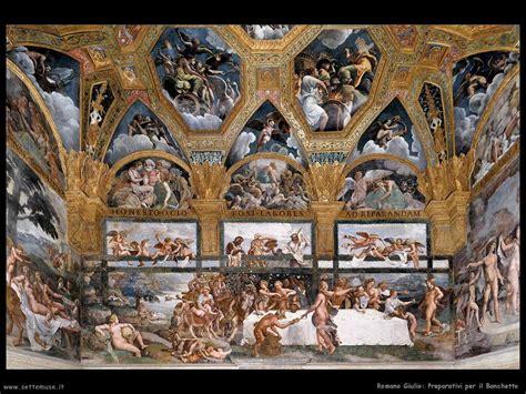 banchetto romano romano giulio pittore biografia foto opere settemuse it
