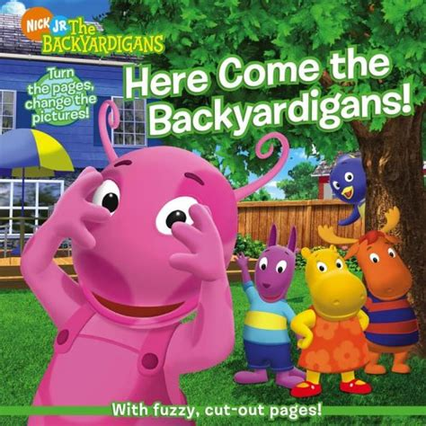 here come the backyardigans by janice burgess reviews