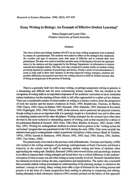 An Essay On My by Writing Academic Essays Exles 7 Exles Of Starting An Essay Uxhandy