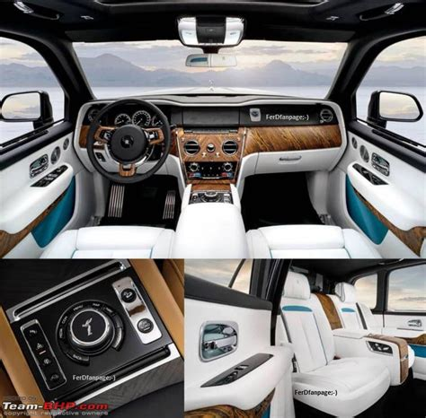 rolls royce cullinan interior the rolls royce cullinan suv this is it team bhp