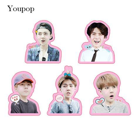 Exo Chanyeol Cheeks Sticker popular exo chanyeol stickers buy cheap exo chanyeol stickers lots from china exo chanyeol