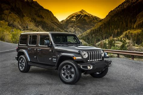 New Jeep 2018 by New 2018 Jeep Wrangler Images Features Tech Specs