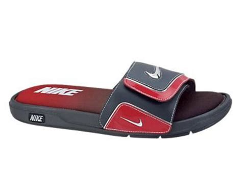 nike comfort slide 2 white and blue volleyball corner nike men s comfort slide 2 red navy