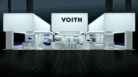 booth design germany voith booth by bj 246 rn radler at iaa frankfurt germany