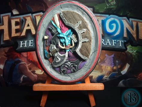 Hearthstone Card Back 3d Template by Hearthstone 3d Card Sculpture Picture By Antoniobalicevic