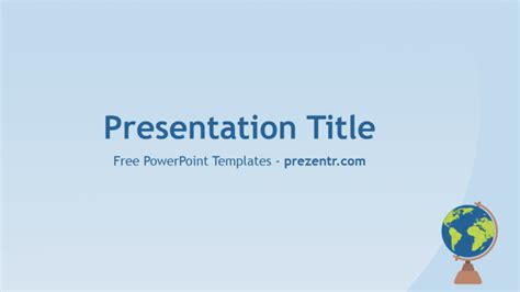 Free Geography Powerpoint Template Prezentr Powerpoint Geography Powerpoint Templates