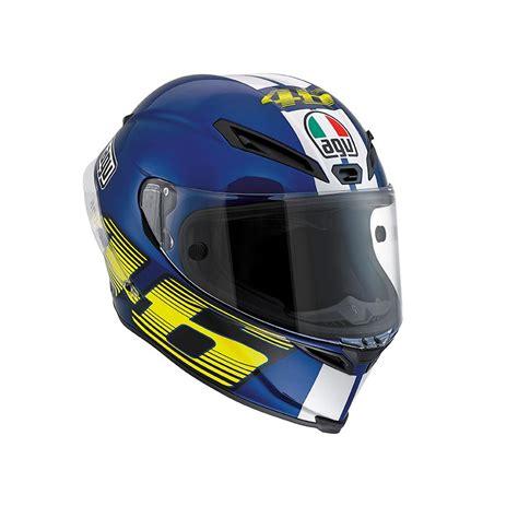 agv corsa top  motosiklet kaski mavi
