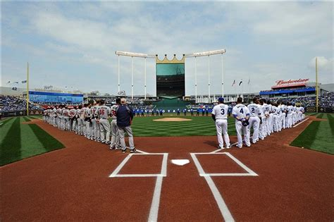 the royals home opener and a curious feeling of