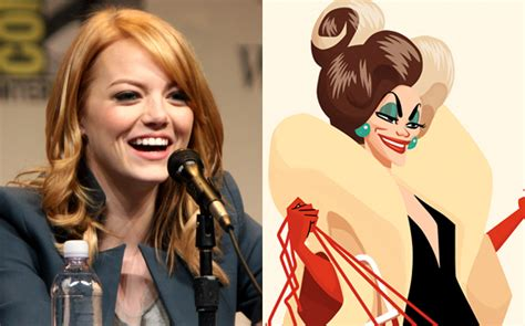 emma stone disney is emma stone going to be our next cruella de vil gay times