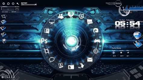 computer themes download 2015 download rainmeter pro latest version