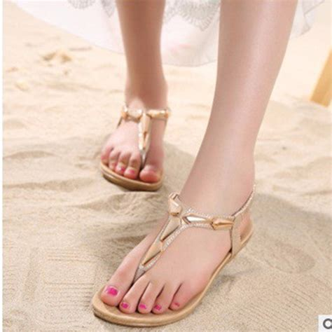 Sandal Wanita Tali Jepit Murah Sandal Sepatu Perempuan 44 murah sandal jepit emas promotion shop for promotional