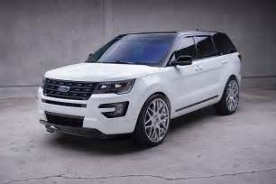 Ford Explorer Sport Mad Industries 2016 Ford Explorer Sport Sema Build 2015