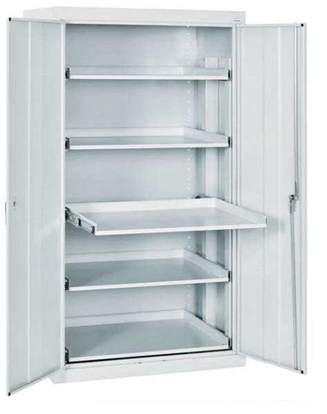 cabinet pull out shelves sandusky et52362466 00ll storage cabinet w pull out