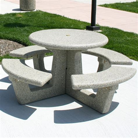 concrete picnic benches concrete picnic tables square concrete picnic table 42 in