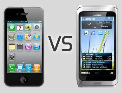 iphone themes for nokia e7 iphone 4 vs nokia e7 celulares taringa