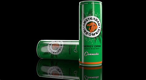 Cannabis Light Drink by Amsterdam Insomnia Premium Energy Drink Series