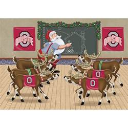 ohio state buckeyes holiday cards the danbury mint
