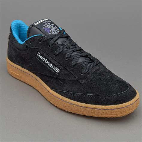 Sepatu Merk Reebok sepatu sneakers reebok club c 85 indoor black