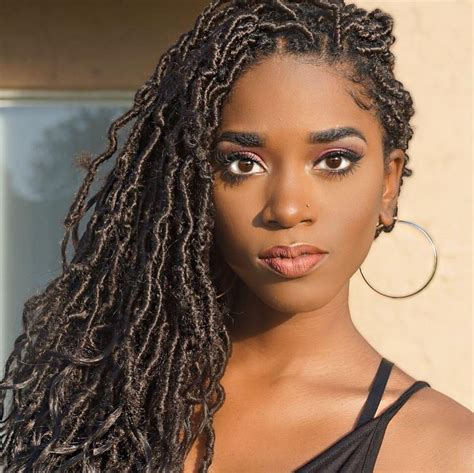 black hairstyles for miami goddess locs inspiration essence com