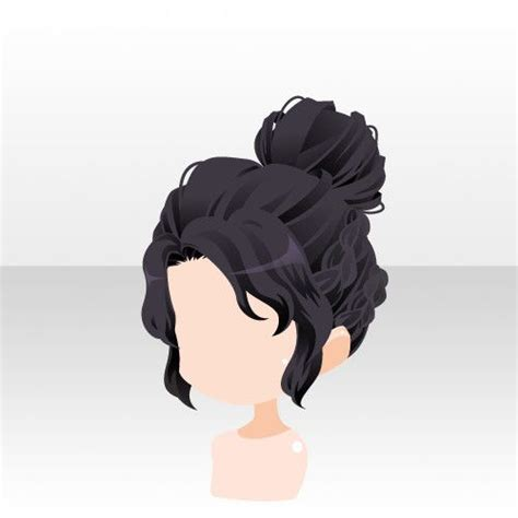 anime bun hairstyles 136 best images about animated hairstyles on pinterest