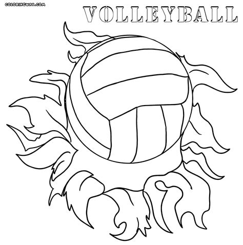 volleyball coloring book pages volleyball coloring pages coloring pages to download and
