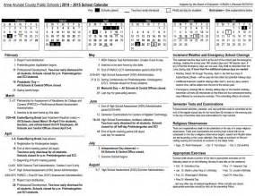 Arundel School Calendar Arundel County School Calendar 2014 2015