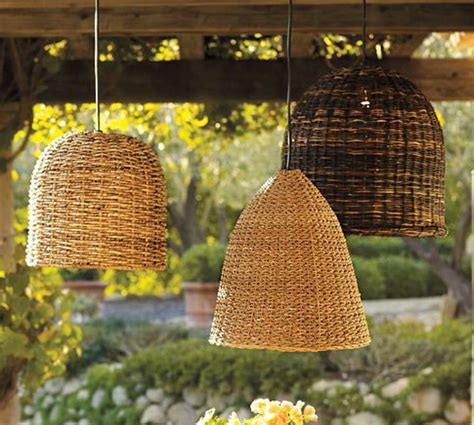 Pottery Barn Outdoor Lights Eclectic Outdoor Lighting Ideas By Pottery Barn
