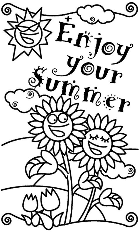 end of the year coloring pages for kindergarten end of the school year coloring pages