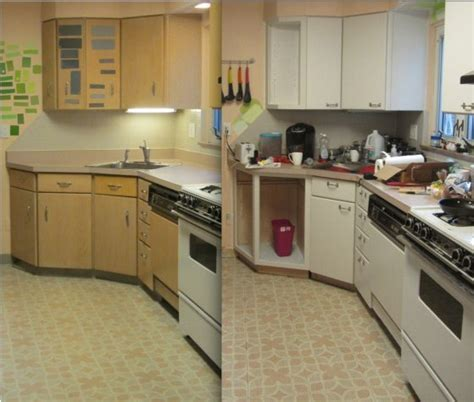 Before And After Pictures Of Painted Laminate Kitchen Cabinets Painting Laminate Cabinets Without Sanding Paint Home
