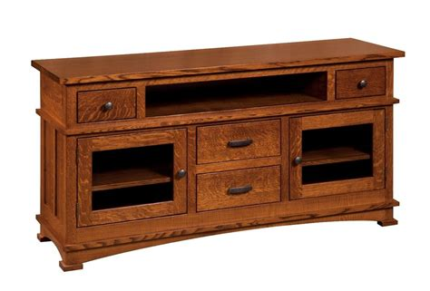 solid wood console cabinet amish mission kenwood tv stand cabinet solid wood glass